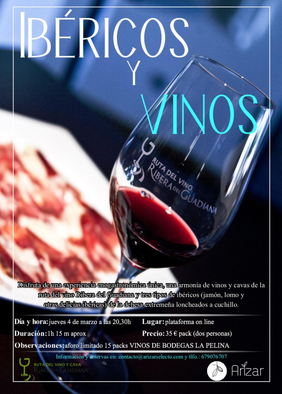 Entre Vinos e Ibéricos - Ruta del Vino y el Cava Ribera del Guadiana