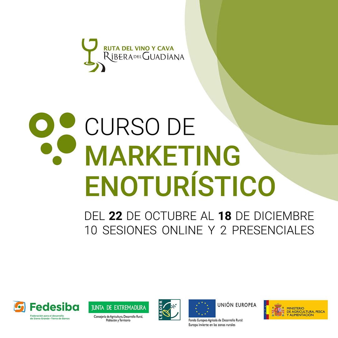 La Ruta formará en marketing enoturístico a profesionales y emprendedores del sector turístico de Tierra de Barros